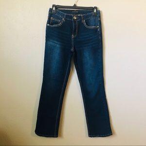Silver Jeans size 12 Boys Bootcut Darkwash